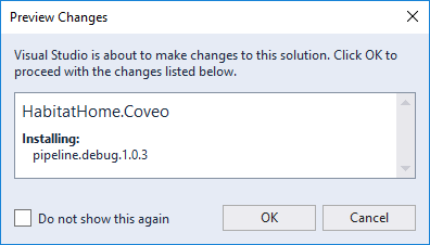 Preview Changes Dialog