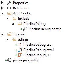 Project files added by pipeline.debug